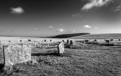 Grey Wethers stone circles photograph