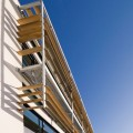 Specialist shade and ventilation at Tamar Science Park.